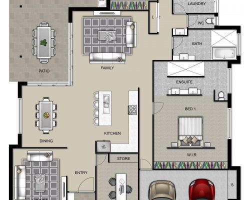 Floorplan High Resolution