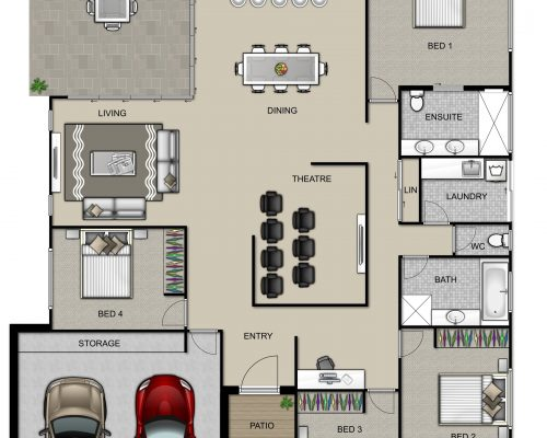 Kepnock Floorplan High Resolution